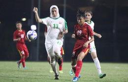 Thắng Iraq 3-0, U16 nữ Việt Nam vững ngôi nhì bảng D