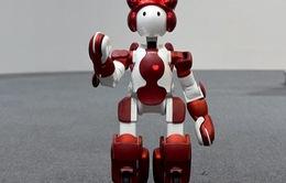 Robot chào đón du khách ở sân bay Nhật Bản