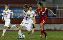 Kết thúc lượt trận 14 giải BĐ nữ VĐQG - Cúp Thái Sơn Bắc 2016: Xác định 2 cặp đấu bán kết