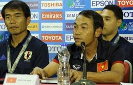 HLV Đinh Thế Nam: U16 Việt Nam sẽ chơi hết mình tại VCK U16 châu Á