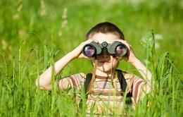Nên cho trẻ em tiếp xúc nhiều với thiên nhiên