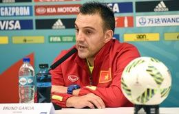 Phát biểu trước trận đấu vòng 1/8 Futsal World Cup 2016, ĐT futsal Việt Nam - ĐT futsal Nga