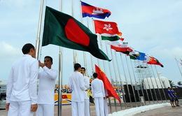 Sẵn sàng cho Lễ thượng cờ các quốc gia, vùng lãnh thổ tham dự ABG5