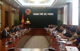 Phối hợp mở rộng hợp tác giữa Hải Phòng với Hàn Quốc