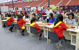 Tuyển cờ vua nữ Việt Nam gây ấn tượng ở giải Olympiad