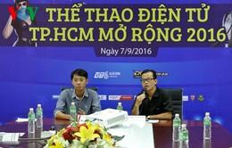 Sắp khai mạc Giải thể thao điện tử TPHCM mở rộng 2016