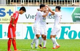 Xác định đầy đủ 8 đội tham dự VCK Giải vô địch U21 Quốc gia 2016