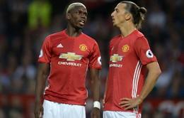 """Pogba và Ibrahimovic """"đẻ trứng vàng"""" cho Man Utd"""