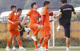 ĐT Việt Nam nghỉ ngơi, chuẩn bị cho trận giao hữu đầu tiên tại Hàn Quốc