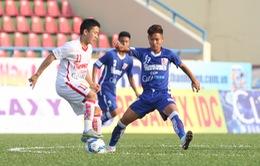 VCK U21 Quốc gia: HAGL và chủ nhà Than Quảng Ninh cầm chân nhau ở trận khai mạc