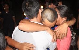 Phút đoàn tụ gia đình của 2 thuyền viên Hà Tĩnh trở về từ Somalia
