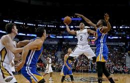 Golden State Warriors nối dài mạch thắng trước New Orleans Pelicans