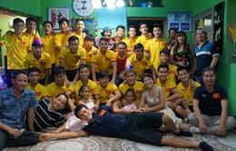 U19 Việt Nam giao lưu và tri ân cộng đồng người Việt tại Bahrain