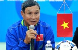 """HLV Mai Đức Chung: """"U19 nữ Việt Nam phấn đấu giành thành tích cao nhất"""""""