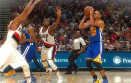 Thi đấu không ấn tượng, Golden State Warriors vẫn thắng dễ Portland Trail Blazers