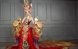 Quốc phục nặng 45 kg của đại diện Việt ở Hoa hậu Siêu quốc gia