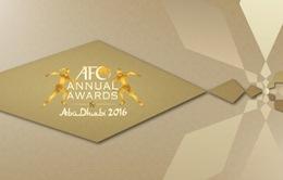 LĐBĐVN tiếp tục được đề cử vào 2 danh hiệu năm của AFC