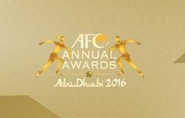 Đại diện VFF tham dự Gala trao các giải thưởng thường niên của AFC