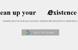 Công cụ giúp người dùng biến mất khỏi thế giới Internet