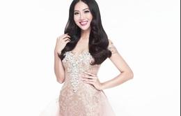 Diệu Ngọc khoe váy dạ hội quyến rũ diện trong CK Hoa hậu Thế giới 2016