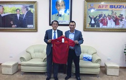 Tân Đại sứ đặc mệnh toàn quyền Nhật Bản đánh giá cao thành tích của bóng đá Việt Nam trong năm 2016