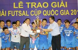 CLB Thái Sơn Nam vô địch Giải Futsal Cúp Quốc gia 2016
