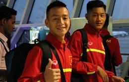 ĐT U16 Việt Nam đã tới Ấn Độ, sẵn sàng cho VCK U16 châu Á 2016