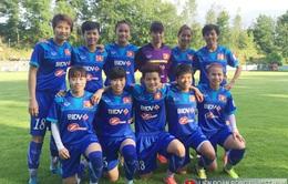 Tăng 2 bậc, ĐT nữ Việt Nam kết thúc năm 2016 với vị trí 32 trên BXH FIFA
