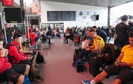 ĐT Futsal Việt Nam đã có mặt tại Bucaramanga chuẩn bị cho trận đấu với Italia