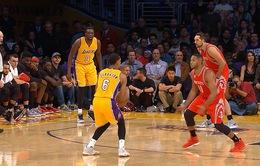 Los Angeles Lakers đánh bại Houston Rockets trong ngày ra quân