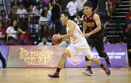 """VBA 2016: Danang Dragons thắng """"nghẹt thở"""" Saigon Heat trong trận bán kết"""