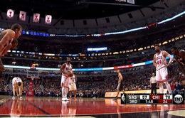 Chicago Bulls chấm dứt mạch thắng kỷ lục của San Antonio Spurs