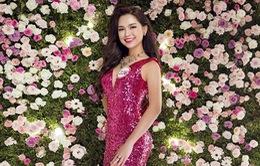 Thí sinh Hoa hậu Việt Nam 2016 khoe sắc giữa rừng hoa