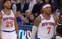 Dàn sao xuất hiện trong chiến thắng kịch tính của New York Knicks