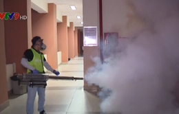 TP.HCM lần đầu tiên phun mù nhiệt nóng phòng chống Zika
