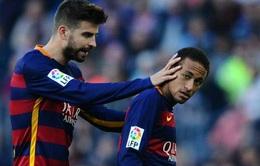 Pique: Neymar mà gia nhập Real thì cứ chặt tay tôi!