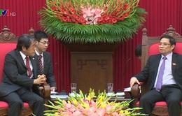 Đồng chí Phạm Minh Chính tiếp Đại sứ Nhật Bản tại Việt Nam