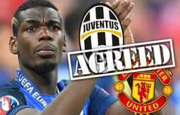 Đại diện Juventus xác nhận thương vụ Pogba sang Man Utd đã hoàn tất