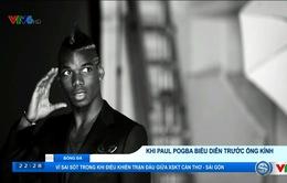 VIDEO: Paul Pogba và nghệ thuật biểu diễn trước ống kính