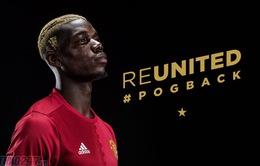 """Pogba trở lại Man Utd và phản ứng của báo chí châu Âu: """"Pogba không thuộc về thế giới này"""""""