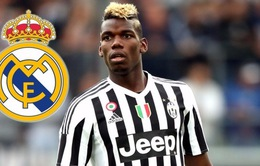 Chuyển nhượng 26/7: Pogba muốn gia nhập Real nhưng bị ép về Man Utd