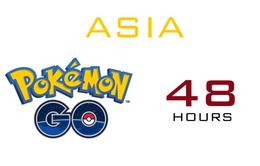 Pokémon GO sẽ mở cửa tại châu Á sau 48 giờ nữa