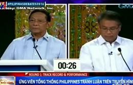 Ứng cử viên Tổng thống Philippines tranh luận trên truyền hình