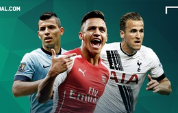 Tiền đạo nào xuất sắc nhất Ngoại hạng Anh năm 2016?