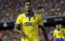 Đá cho Las Palmas, Kevin Boateng vẫn làm nên lịch sử tại châu Âu
