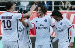 Thắng 9-0, PSG lập kỷ lục vô địch Ligue 1 trước 8 vòng đấu