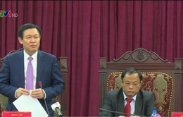 Phó Thủ tướng Vương Đình Huệ làm việc với tỉnh Bắc Kạn