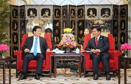 Phó Thủ tướng Trịnh Đình Dũng tiếp Bí thư Tỉnh ủy Vân Nam