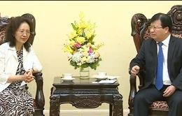 Phó Thủ tướng Trịnh Đình Dũng tiếp Phó tỉnh trưởng tỉnh Vân Nam, Trung Quốc