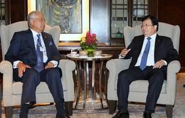 Phó Thủ tướng Trịnh Đình Dũng hội kiến với Thủ tướng Malaysia